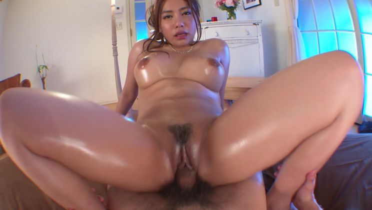 Beauteous busty Mei Matsumoto performing in amazing creampie porn video