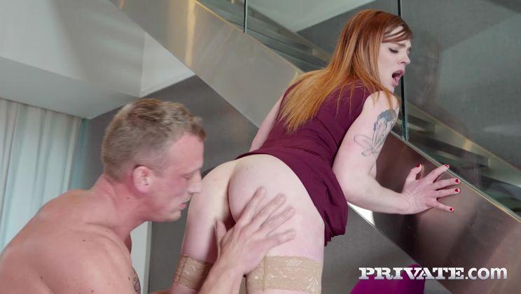 Carly Rae, Gorgeous Redhead Enjoys Fuck at Breakfast