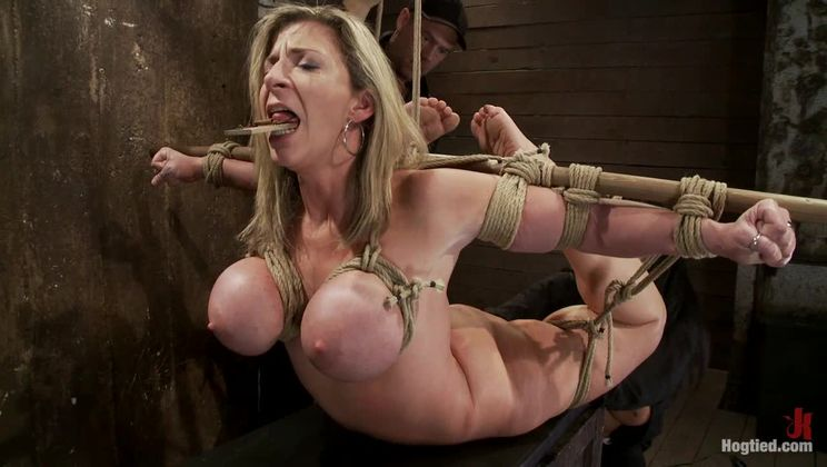 """MILF with """"EE"""" tits has so many orgasms ripped out of herCries from the brutal emotion of it all"""