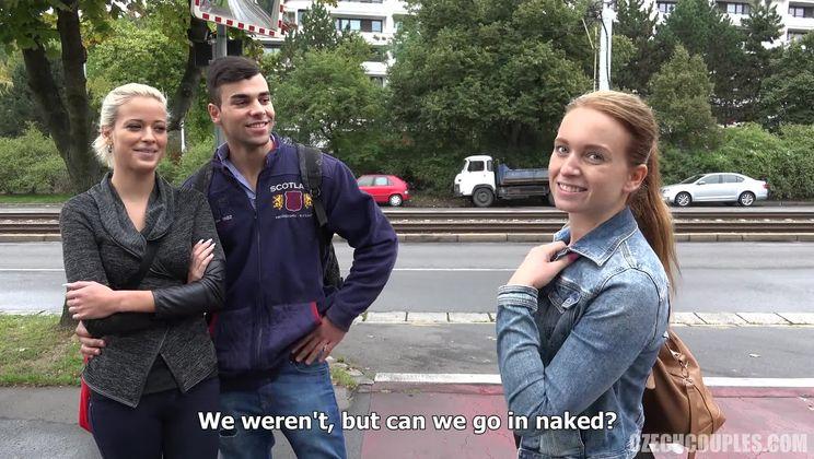 Videos czech couples Swingers: Hooking