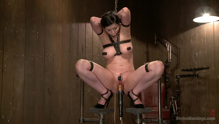 Extreme Torment, Brutal Device Bondage, and Screaming Orgasms!!