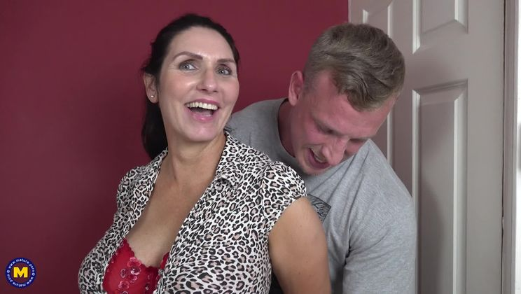 British big breasted Temptress having a date night
