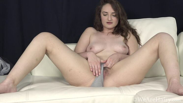 Luci Lovett strips and talks sexy as she undresses