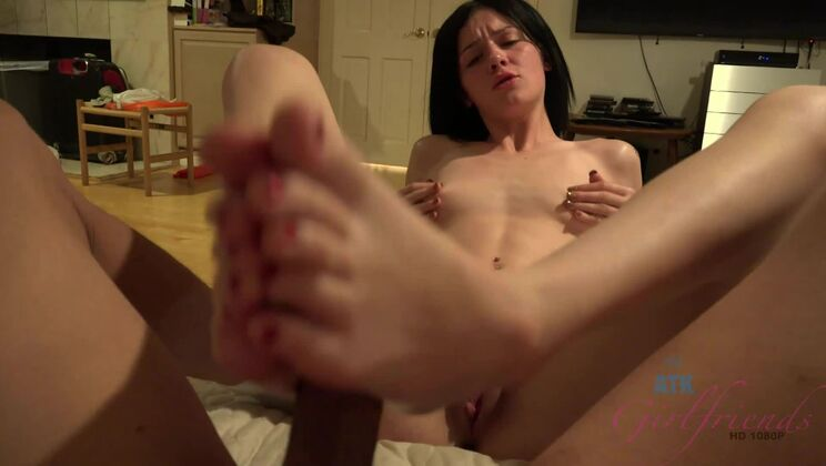 Rosalyn lets you fuck her tight asshole!