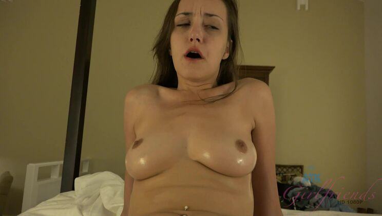 The date starts out with water fun and ends with cum on her face