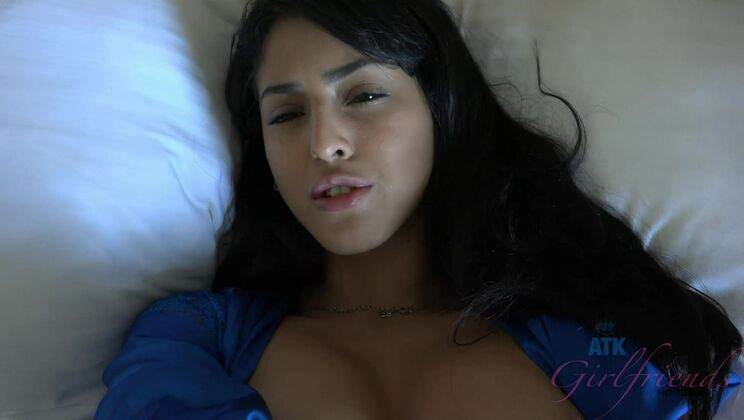 Her pussy clenches tightly to your cock before the creampie