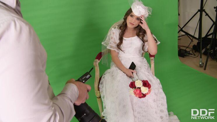 Bride Rides Photographer's Big Dick