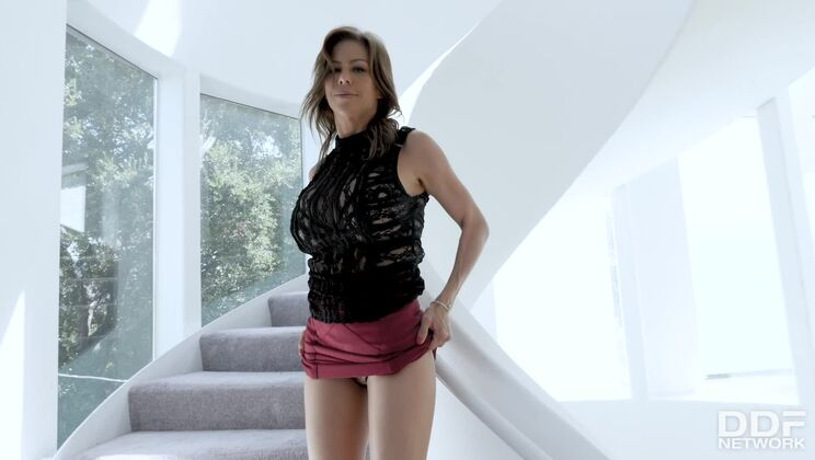 Busty Milf's Solo Toy Time