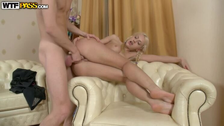 Naughty sexdoll goes for hard anal sex