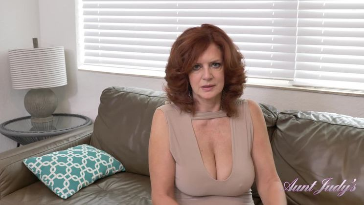 Andi James jerks you off and sucks your cock