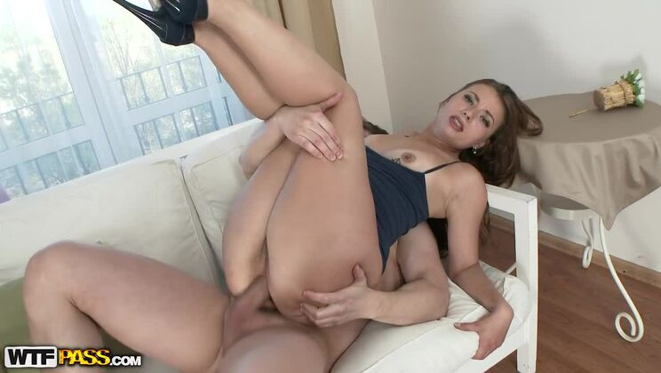 She Loves Very Hard Anal Sex