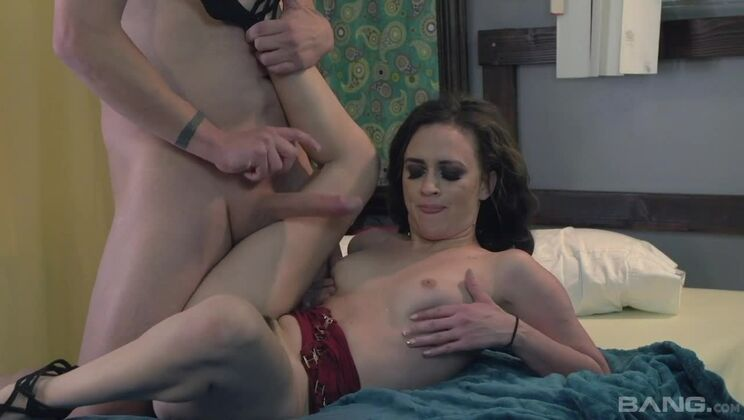 Ziggy Star smashes her pussy down on his dong in a cheap hotel room