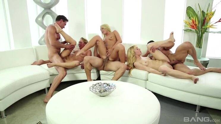 So. Cal Swingers induce new member in swapping sixway