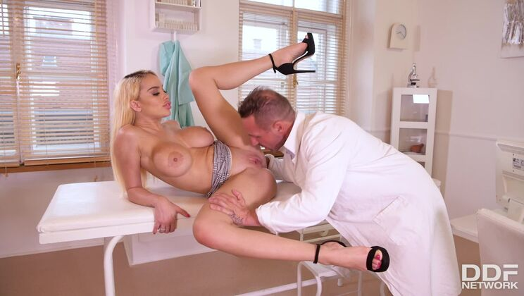 Dirty Doctor Bangs Busty Patient