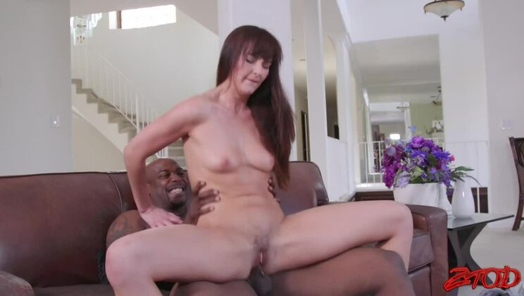 Bianca Breeze loves to be fresh white meat for big black cock