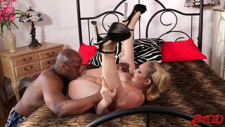Kagney Linn Karter takes a huge black dick in the ass