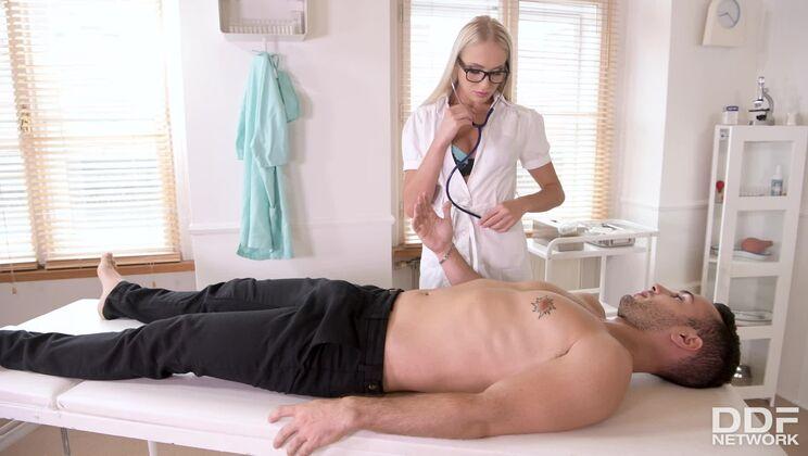 Ukrainian Nurse Pounded by Patient