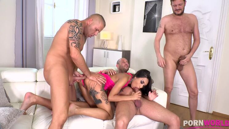 Asian Babe's Favorite Orgy