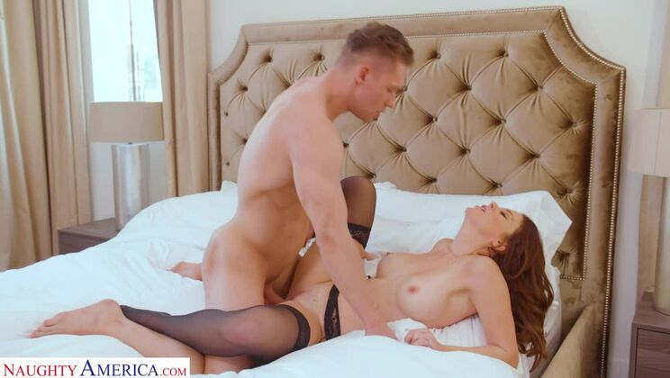 Audrey Miles takes a big cock