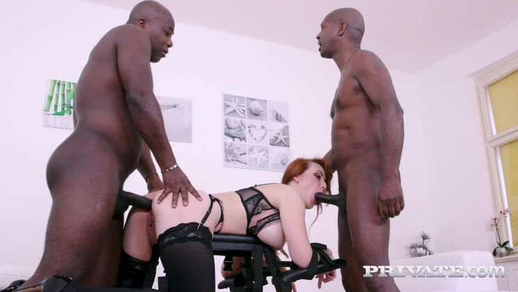 Stunning MILF Isabella Lui Debuts with Interracial Threesome