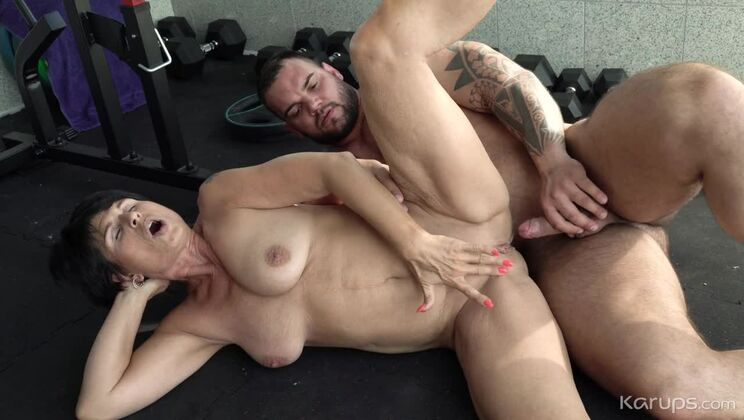 Granny Craves A Young Cock