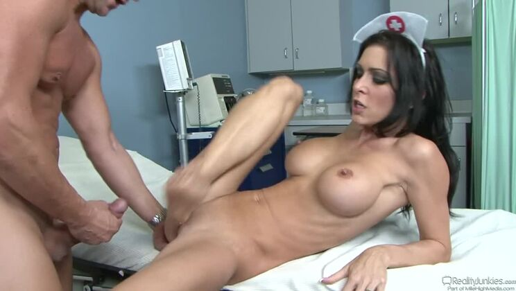 CUMSHOTS Big Breast Nurses #05 Scene 11